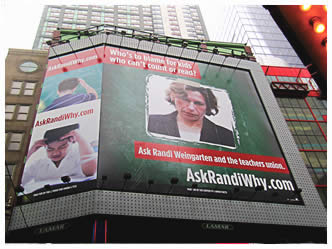 Ask Randi Why Billboard